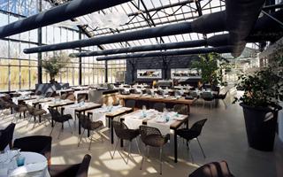 Restaurante De Kas (Amsterdam, Países Bajos)